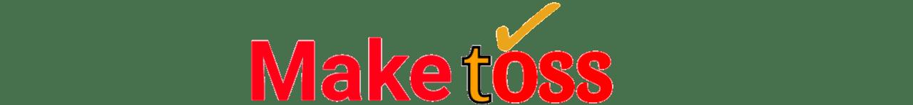 Logo of maketoss company