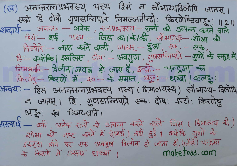 Sanskrit class 8 chapter 13
