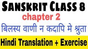Sanskrit class 8 chapter 2-कः रक्षति कः रक्षित