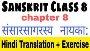 Sanskrit class 8 chapter 8