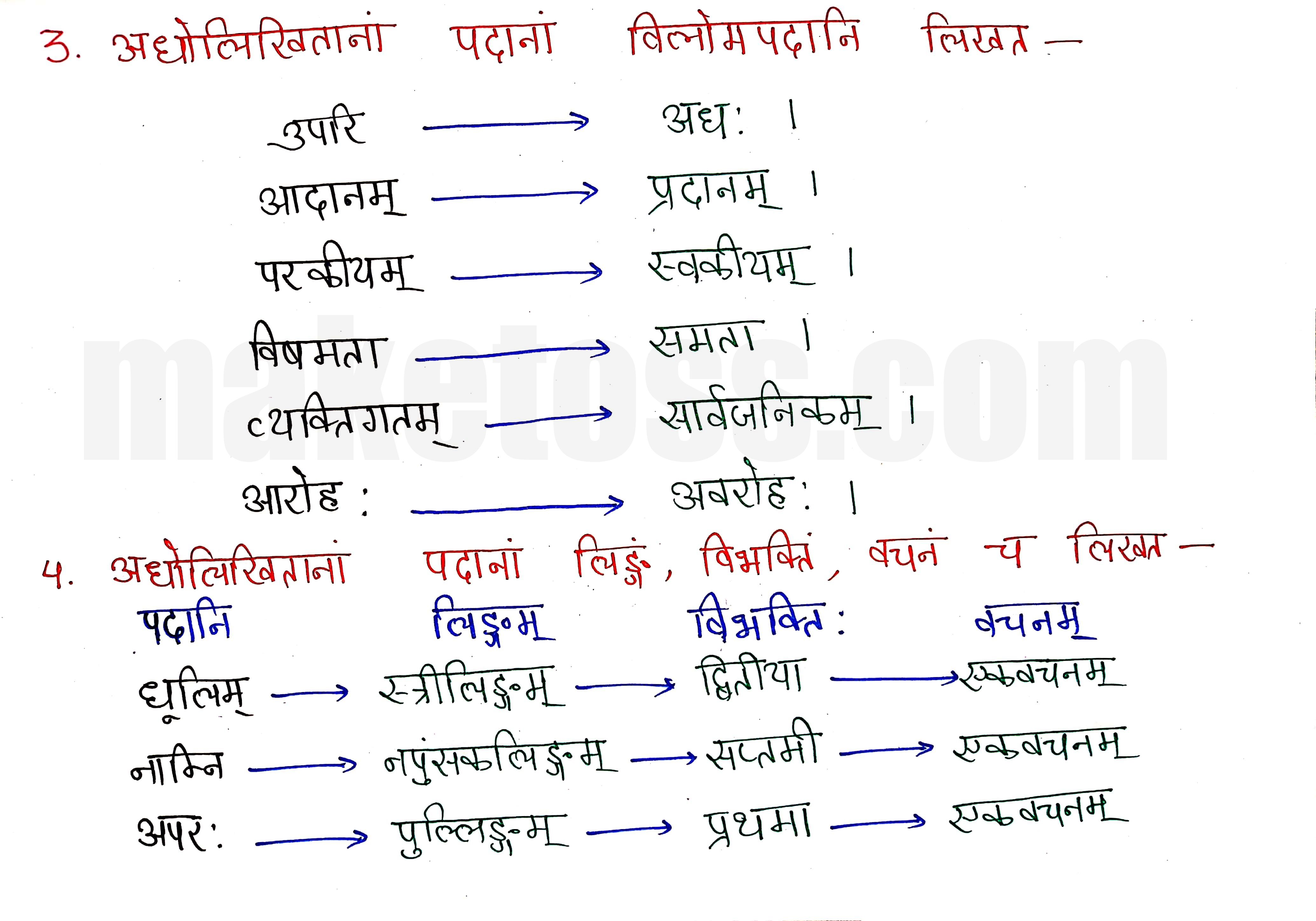 Sanskrit class 8 chapter 11-सावित्री बाई फुले page 4