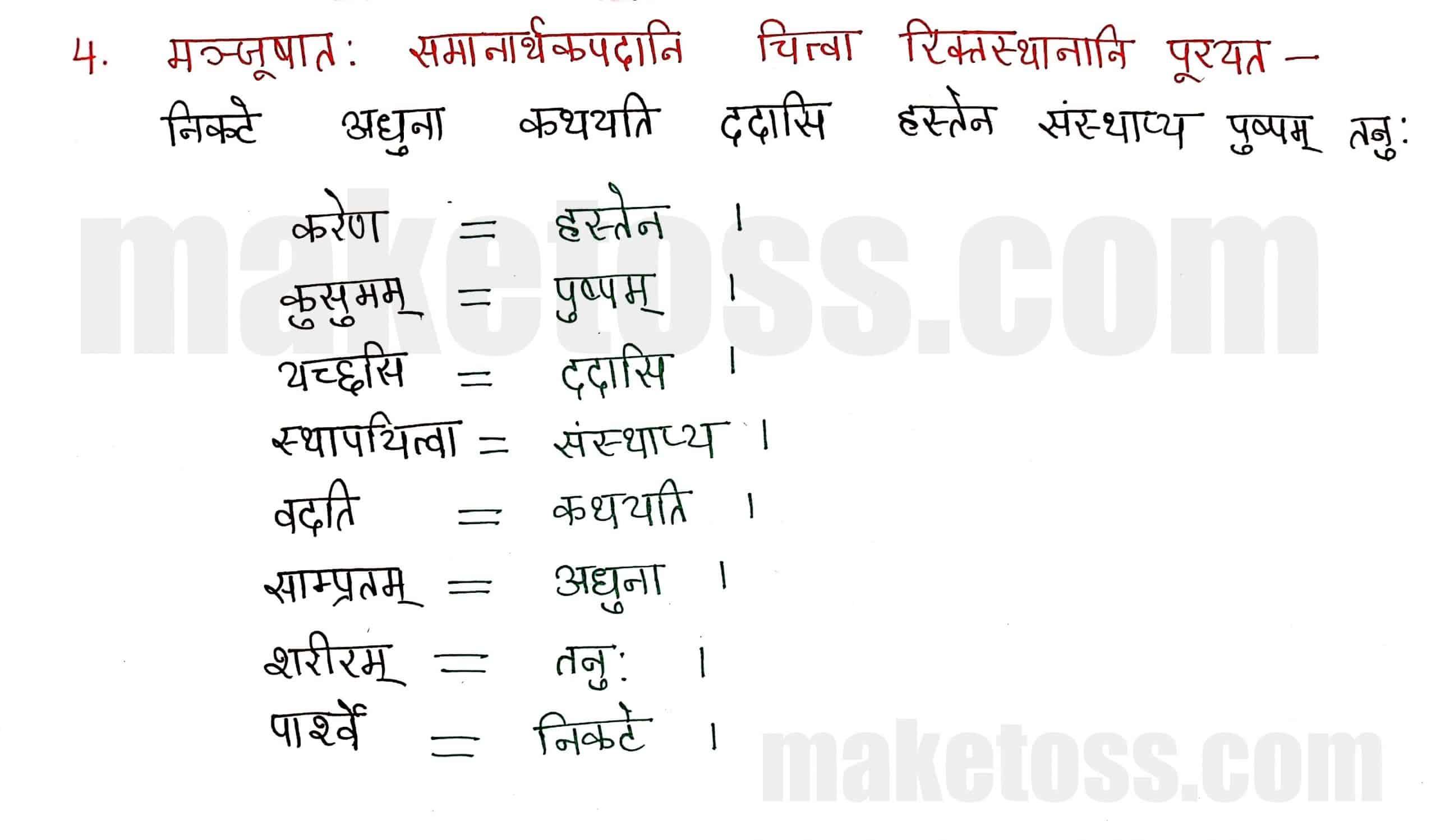Class 8 Sanskrit chapter 6-प्रेमलस्य प्रेमल्याश्च कथा-page 4