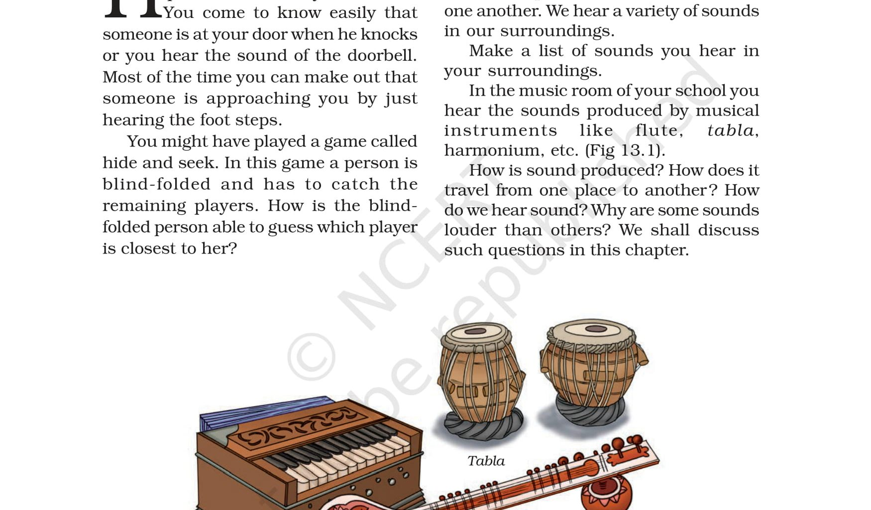 Class 8 Science - Sound - NCERT Book Chapter 13 - View or Download